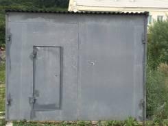 Гаражи металлические. улица Патрокл 10, р-н Трудовая, электричество. Вид снаружи