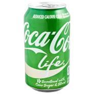 Напиток COCA-COLA LIFE 355 МЛ Ж/Б