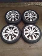 """Комплект колес Weds Leonis R 17+ резина 215/45. 7.0x17"""" 5x114.30 ET55 ЦО 66,1мм."""