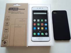 Meizu U10. Б/у, 32 Гб, Серебристый, 4G LTE, Dual-SIM