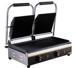 Гриль-пресс двойной, рифленный, чугун, 3,6 кВт 215х215х2 GASTRORAG NPL-EGD20E NPL-EGD20E