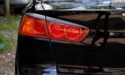 Накладка на стоп-сигнал. Mitsubishi Lancer, CX2A, CX3A, CX4A, CX8A, CX9A, CY2A, CY3A, CY4A, CY8A, CY9A Двигатели: 4A91, 4B10, 4B11, 4N13, BKD, BWC