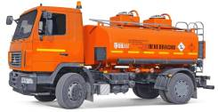 МАЗ 5340В2-425. Топливозапрвщик 11 кубов 2 секции МАЗ-5340В2-425-000 (Евро 4), 11 000кг.