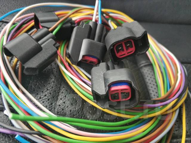 Разъемы коннекторы на форсунки Uscar EV6 EV14