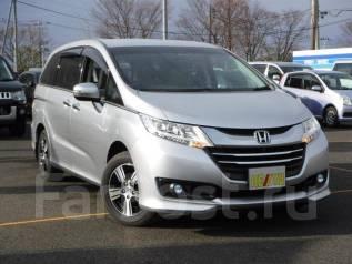 Honda Odyssey. вариатор, 4wd, 2.4 (182л.с.), бензин, б/п. Под заказ