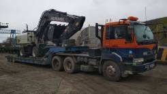 Nissan Diesel. Продам сцепку Трал Korea Trailer 2002г 45 тонн во Владив, 26 507куб. см., 45 000кг.