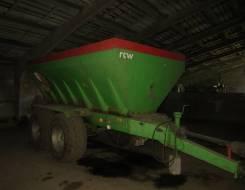 Agromaster. Прицеп тракторный Agromet Pilmet разбрасыватель RCW 10000