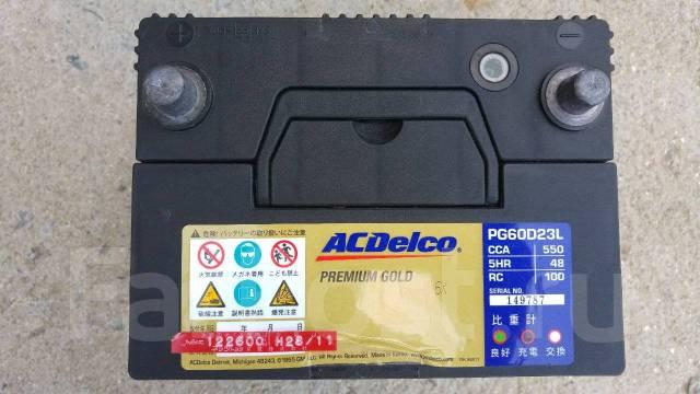 Acdelco. 60А.ч., Обратная (левое), производство Корея