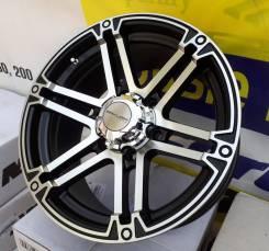 Sakura Wheels. 8.0x17, 6x139.70, ET15, ЦО 110,5мм.