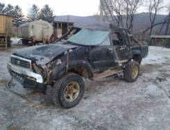 Toyota Hilux. Hilux PickUp LN106 черный