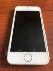 Apple iPhone 5s. Б/у, 64 Гб, Серебристый, 4G LTE