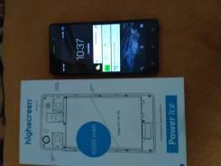 Highscreen Power Ice. Б/у, 16 Гб, Синий, 3G, 4G LTE, Dual-SIM