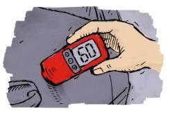 Проверка авто на аварийность (замер лкп) (прокат)