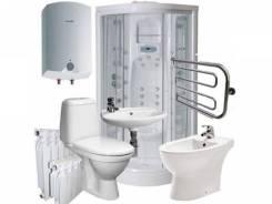 Установка душевых кабин, унитазов, биде, ванн, раковин, смесителей и тп