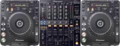 Dj комплект Pioneer CDJ 1000 MK3 + Пульт DJM 800