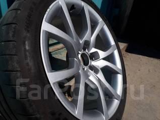 """Колёса (шины+литые диски) на Audi A5. x18"""" 5x100.00 ET-2 ЦО 58,0мм."""