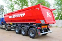 Kassbohrer. Самосвальный полуприцеп Kasbohrer - 2018 год выпуска. Объём 32 мкуб., 40 000кг.