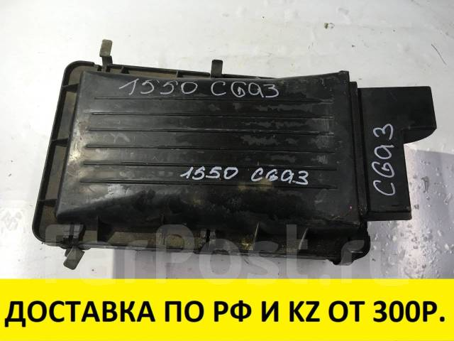 Корпус воздушного фильтра. Nissan March Box, WAK11 Nissan Cube, AZ10, Z10 Nissan March, AK11, HK11, K11 Двигатели: CGA3DE, CG13DE, CG10DE
