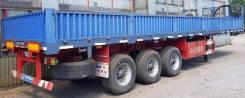 Enxin Enterprise HEX9402. Полуприцеп бортовой контейнеровоз 3 оси, 40 тонн, 2012 год, 40 000кг. Под заказ