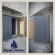 Ворота гаражные, входные двери, решётки оконные, перегородки.