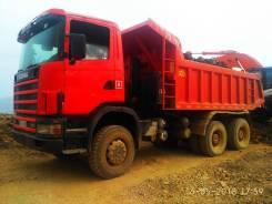 Scania. Продам самосвал скания 6*6 2003г насос простой., 12 000куб. см., 24 000кг.