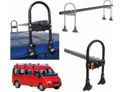 Багажники. Nissan Patrol Nissan Safari, WYY60, WRY60, WRGY60, WGY60, VRGY60, VRY60 УАЗ Буханка Toyota Hiace, KZH106, KZH106G, KZH106W Toyota Land Crui...