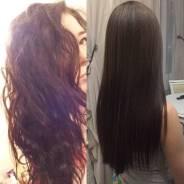 Кератиновое выпрямление, ботокс, счастье для волос, Стрижки 1000р