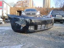 Бампер передний Toyota Gaia SXM10 черного цвета. Деф. без туманок (137