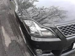 Защита фар прозрачная. Toyota Crown, GRS200, GRS201, GRS202, GRS203, GRS204, GWS204, UZS200 2GRFSE, 3GRFSE, 4GRFSE