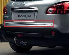 Накладка на дверь багажника. Nissan Qashqai, J10, J10E