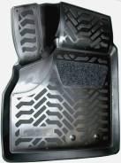 Ковры Lada Priora (2007-) салон (3D с подпятником) черный полиуретан Элерон