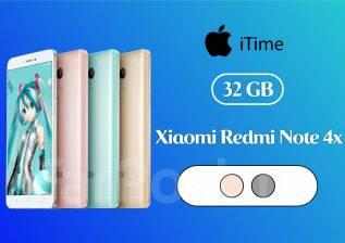 Xiaomi Redmi Note 4X. Новый, 32 Гб, Зеленый