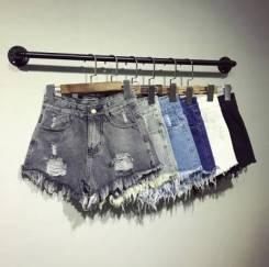 Шорты джинсовые. 38, 40, 42, 44, 46, 48, 50, 52. Под заказ