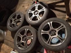 """Литье """"Bridgestone"""" 17"""" 5x114,3 на летней резине 215/50-17"""". 6 шт. 7.0x17"""" 5x114.30 ET38 ЦО 73,1мм."""