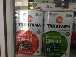 Takayama. Вязкость 10W40, полусинтетическое