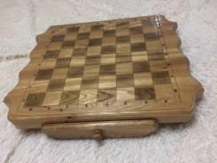 Шахматы (нарды) ручная работа