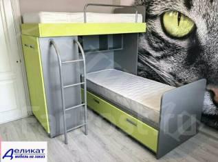 Корпусная мебель для детской на заказ Детская мебель Детские комнаты. Под заказ