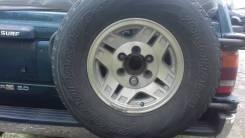 Крепление запасного колеса. Toyota Hilux Surf, KZN130G, KZN130W, LN130G, LN130W, VZN130G