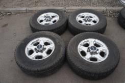 """Продам комплект колес, возможна отправка. 7.0x16"""" 6x139.70 ET38 ЦО 100,0мм."""
