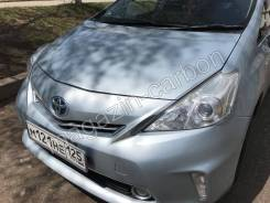 Накладка на фару. Toyota Prius a, ZVW40W, ZVW41W Двигатель 2ZRFXE