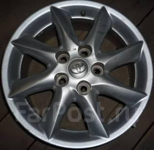 Toyota. 6.5x16, 5x114.30, ET45, ЦО 63,0мм.