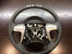 Руль. Toyota Camry, ACV40, ACV41, ACV45 Двигатели: 1AZFE, 2AZFE, 2GRFE