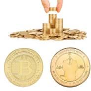 Монета Bitсoin - Anonymous Mint (В капсуле)