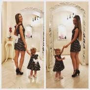 Пошив Family look (одинаковой одежды для мамочек и деток)