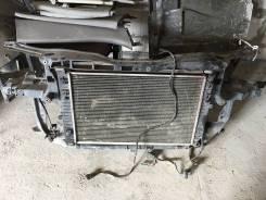 Радиатор охлаждения двигателя. Volkswagen Passat, 3B3, 3B6 Двигатели: ALT, ALZ, AMX, APR, AQD, ATQ, AVB, AVF, AWL, AWM, AWT, AWX, AZM, BAU, BDG, BDH...