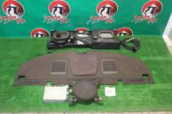 Задняя полка на Марк II 90 с ионизатором, сабвуфером. Toyota Mark II, GX90, JZX90, JZX90E, LX90, LX90Y, SX90