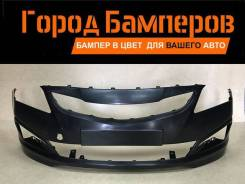 Бампер. Hyundai Solaris, RB Hyundai Accent, RB Двигатель G4FD