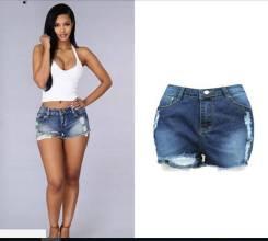 Шорты джинсовые. 42, 44, 46, 48