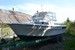 Yamaha Fish 22. 1995 год год, длина 7,00м., двигатель стационарный, 170,00л.с., бензин