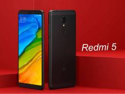 Xiaomi Redmi 5. Новый, 16 Гб, Черный, 4G LTE, Dual-SIM